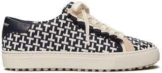 Tory Burch Golf Ruffle Sneakers