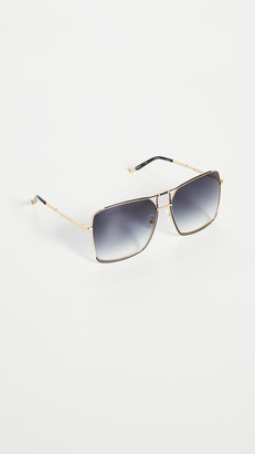 Linda Farrow Luxe Mathew Williamson x Linda Farrow Square Sunglasses