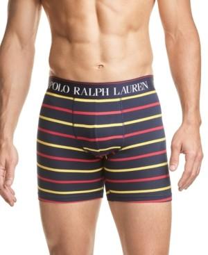 Polo Ralph Lauren Men's Striped Stretch Jersey Boxer Briefs