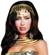 Dreamgirl Women's Shimmering Coin Crown