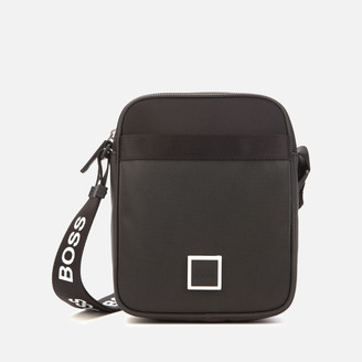 HUGO BOSS Men's Pixel Zip Messenger Bag