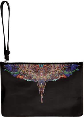 Marcelo Burlon County of Milan Black Multicolor Wings Pouch