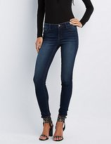 "Charlotte Russe Refuge """"Skin Tight Legging"""" Dark Wash Jeans"