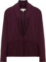 Isolde Roth Plus Size Shawl collar cardigan