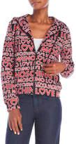 Love Moschino Graphic Hoodie