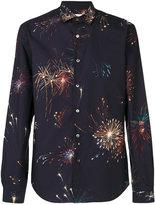 Valentino Fireworks print shirt