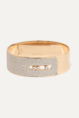 Messika Move Noa 18-karat Gold Diamond Bangle