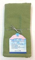 NuAngel Flannel Receiving Blanket - Sage Green
