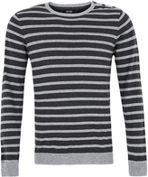 Oxford Axel Striped Knit Gry/Char X