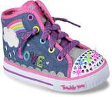 Skechers Shuffles Sparkle Skies Toddler Light-Up Sneaker - Girl's