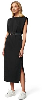 Forever New Zoe Extended Shoulder Column Dress