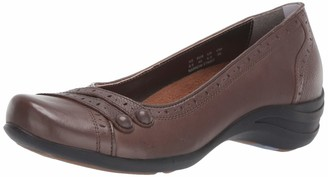 Hush Puppies Burlesque Women 6.5 Dark Brown Leather