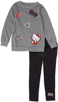 Weeplay Kids Heather Gray Long-Sleeve Tee & Leggings - Toddler