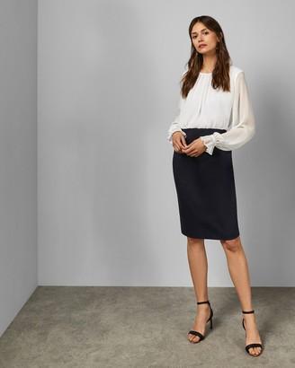 Ted Baker Pencil Skirt Midi Dress