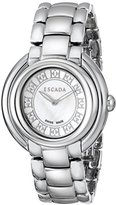 Escada Women's IWW-E2435011 Ivory Analog Display Swiss Quartz Silver Watch