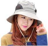 Surker Women Outdoor Sun Cap Bucket Hat Visor Fishing Hats