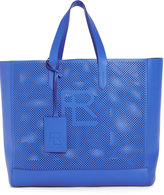 Ralph Lauren Rl Perforated Calfskin Tote