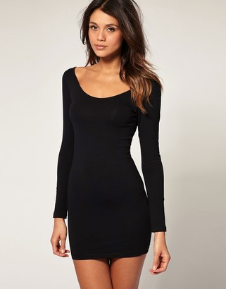 Asos Design ASOS Bodycon Dress with Long Sleeve