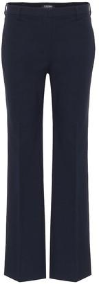 S Max Mara Tebano mid-rise straight pants