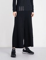 Y-3 Y3 Lux wide-leg jersey jogging bottoms