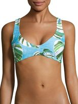 L-Space LSpace Sumatra Palm Rylie Reversible Bikini Top