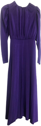 Rotate by Birger Christensen Purple Synthetic Dresses