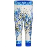 Dolce & Gabbana Dolce & GabbanaBaby Girls Floral Majolica Leggings