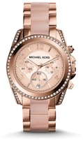 Michael Kors Rose Gold–Tone Blair Watch, 39mm