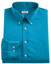 Izod Men's Regular-Fit Plaid Stretch Dress Shirt - Men