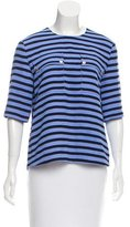 Kate Spade Short Sleeve Striped Top