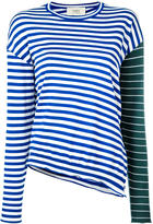 Ports 1961 contrast stripe jumper - women - Virgin Wool - S