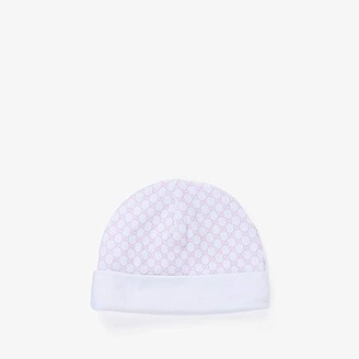 Gucci Kids Hat 3221233K107 (Infant/Toddler) (White/Pink) Caps