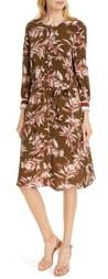 Joie Jeanee Long Sleeve Tie Waist Dress
