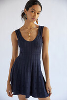 Thumbnail for your product : Maeve A-Line Mini Dress By in Blue Size L