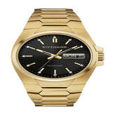Wittnauer Mens Gold Tone Bracelet Watch-Wn3059