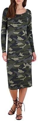 BB Dakota Can You See Me Now Dress (Army Green) Women's Clothing