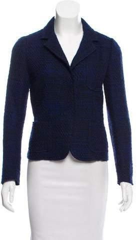 Prada Tweed Wool Blazer