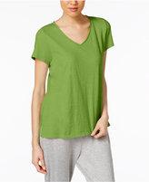 Eileen Fisher Cotton Jersey V-Neck T-Shirt, Regular & Petite