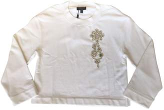 Burberry \N White Cotton Knitwear & Sweatshirts