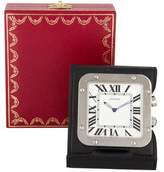 Cartier Santos Travel Alarm Clock