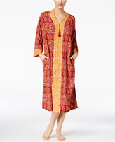 Charter Club Contrast-Banded Caftan, Only at Macy's