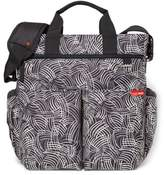 Skip Hop Duo Signature Diaper Bag in Black Swirl