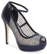 Menbur Women's 'Tambre' Glitter Platform Sandal