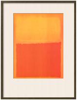 Orange and Yellow by Mark Rothko (Framed)