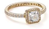 Pandora Ring - 14K Gold & Cubic Zirconia Timeless Elegance