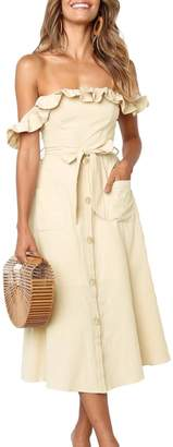 BEIGE Unbranded Dawn Dress