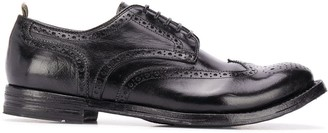 Officine Creative Perforated Detail Oxford Shoes