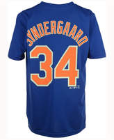Majestic Noah Syndergaard New York Mets Poly Player T-Shirt, Big Boys (8-20)
