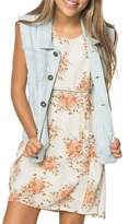 O'Neill Girl's Johnny Denim Vest