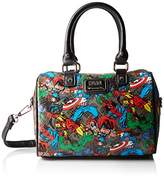 Loungefly Marvel Character Aop Speedy Bag